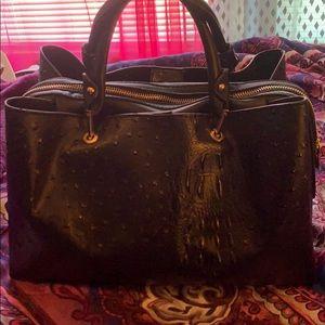 Handbags - Black fashionable pocketbook